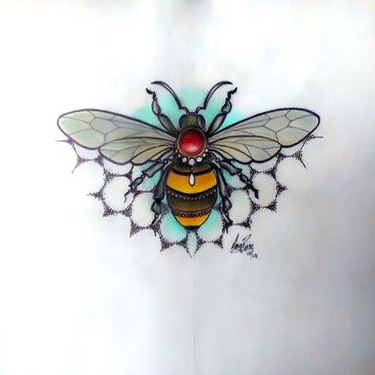 Precious Bee Tattoo