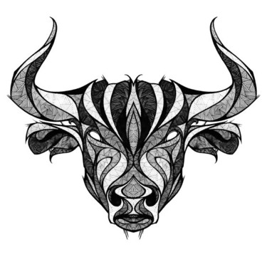 Taurus The Bull Head Tattoo