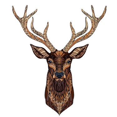 Detailed Buck Tattoo