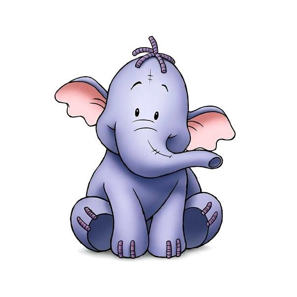 Little Elephant Tattoo Design