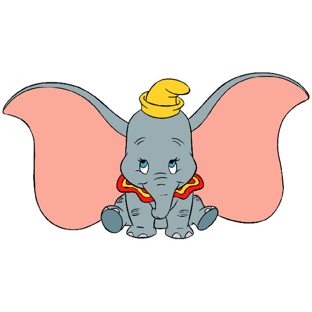 Little Elephant Cute Tattoo Design