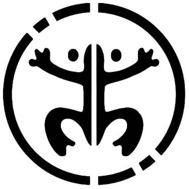 Taino Frog Tattoo