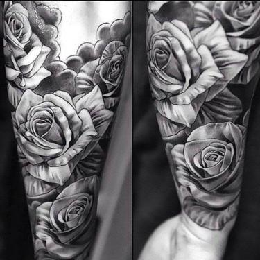 Black and Gray Tattoo for Men Tattoo