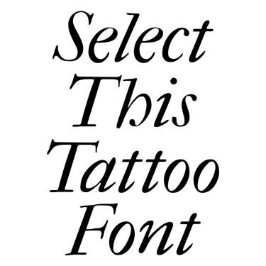 FeFCit2 Tattoo Font