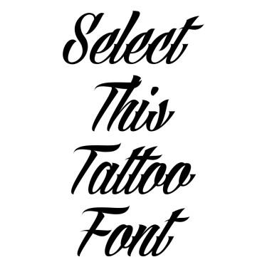 Angilla Tattoo Tattoo Font