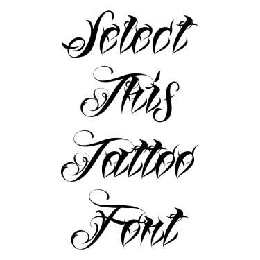 Lina Script Tattoo Font