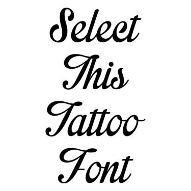 Impregnable Tattoo Font