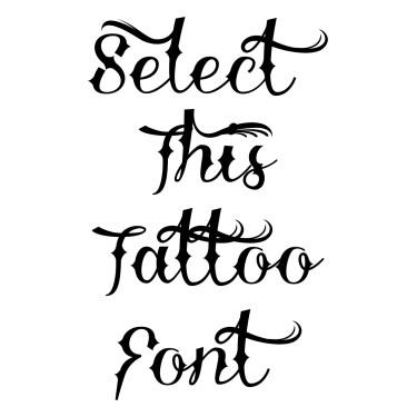 Demo Delinquente Tattoo Font