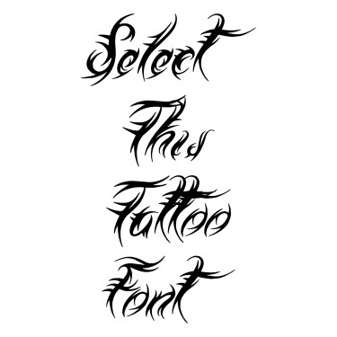 Medieval Queen Tattoo Font