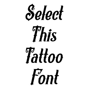 Revorioum Tattoo Font