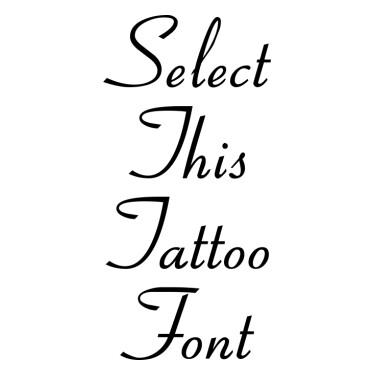 Aspire DemiBold Tattoo Font