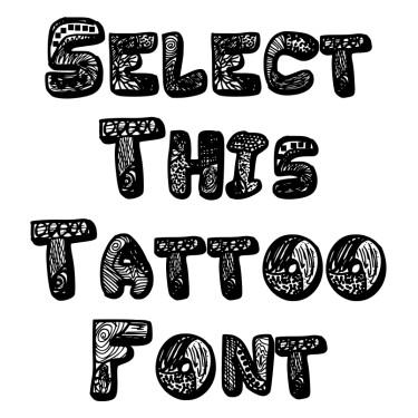 Variety Tattoo Font