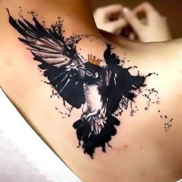 Blackbird King for Women Tattoo