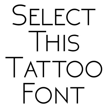 NEOTERIC Tattoo Font