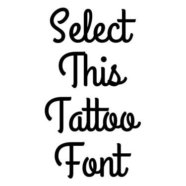GrandHotel Tattoo Font