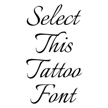 Italianno Tattoo Font