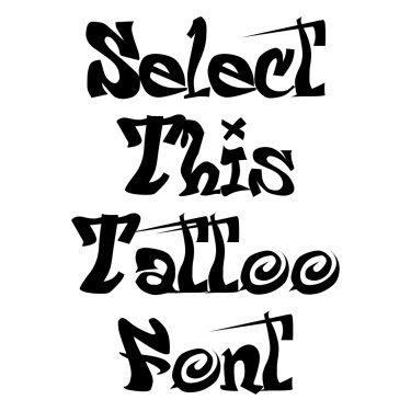 Psycho Tattoo Font