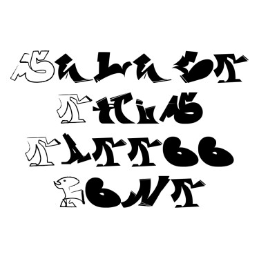GraffitiFun Tattoo Font