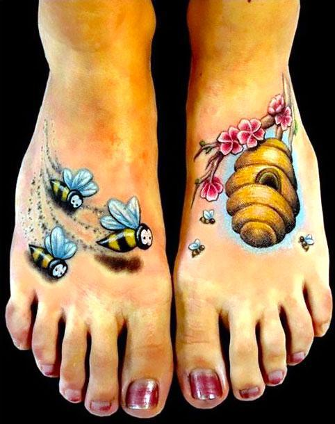 Beehive Tattoo Idea