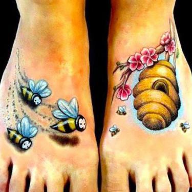 Beehive Tattoo