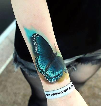 Best Butterfly Tattoo Idea