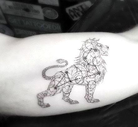 Best Leo Lion Tattoo Idea