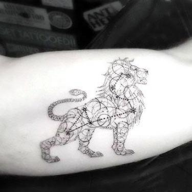 Best Leo Lion Tattoo