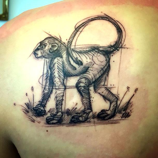 Best Monkey Tattoo Idea