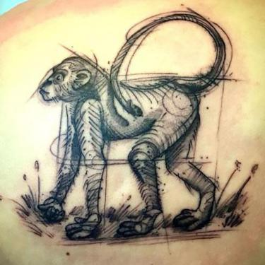 Best Monkey Tattoo