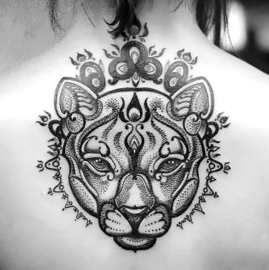 Best Mountain Lion Tattoo Idea