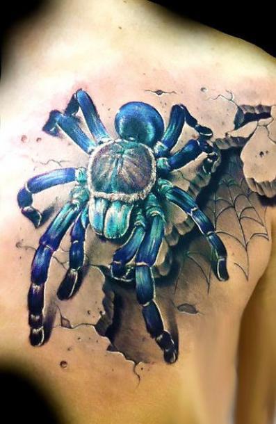 Best Spider Tattoo Idea