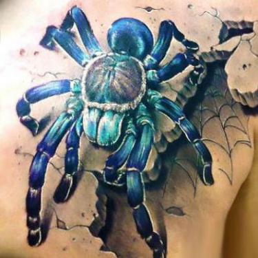 Best Spider Tattoo