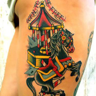 Best Traditional Horse Tattoo