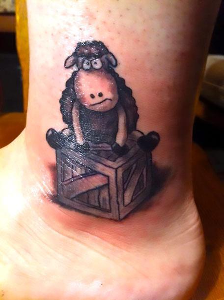 Black Sheep Tattoo Idea