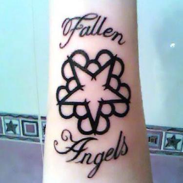 Black Veil Brides Logo Tattoo