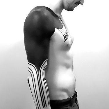 Blackwork Tattoo for Men Tattoo