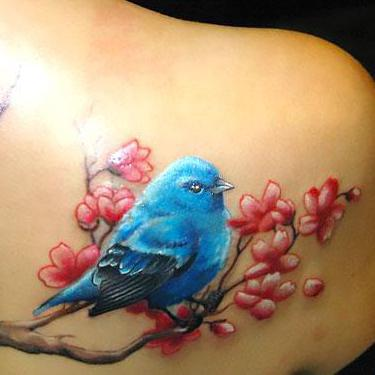 Bluebird for Women Tattoo
