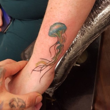 Cool Jellyfish Tattoo