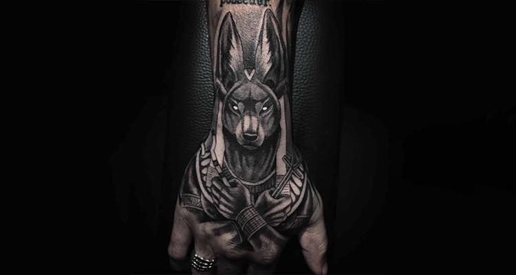 Anubis – The Egyptian God Of The Dead Tattoo Idea