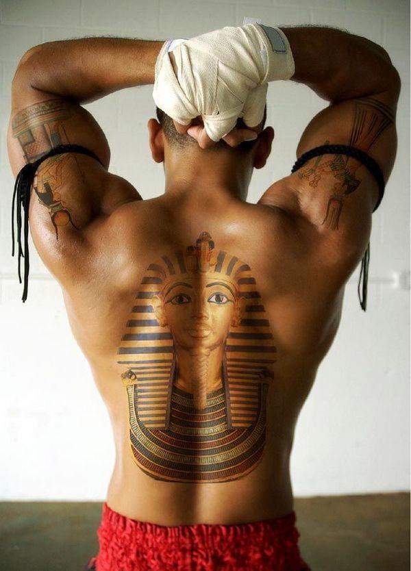 Pharaoh Tattoo Idea