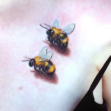 Bumble Bees Tattoo