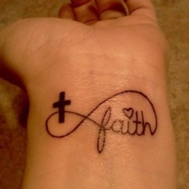 Faith Is Faith Tattoo