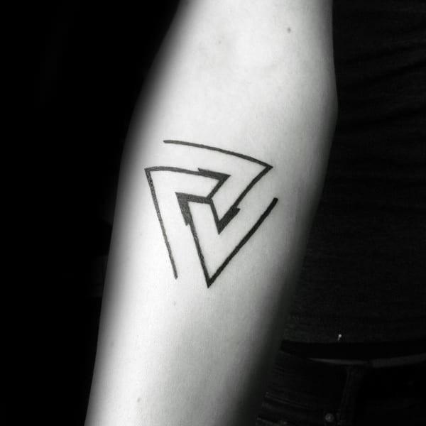Penrose Triangle Tattoo Idea