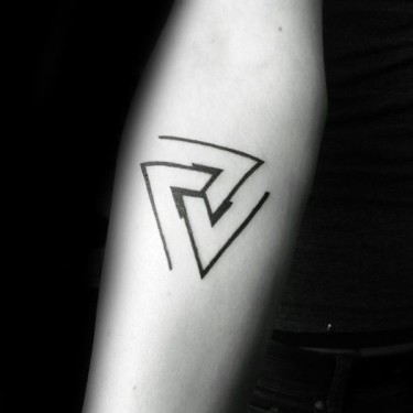 Penrose Triangle Tattoo