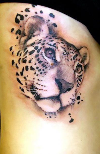 Cheetah Tattoo Idea