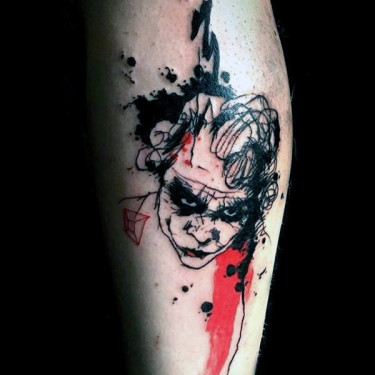 Black Joker Tattoo