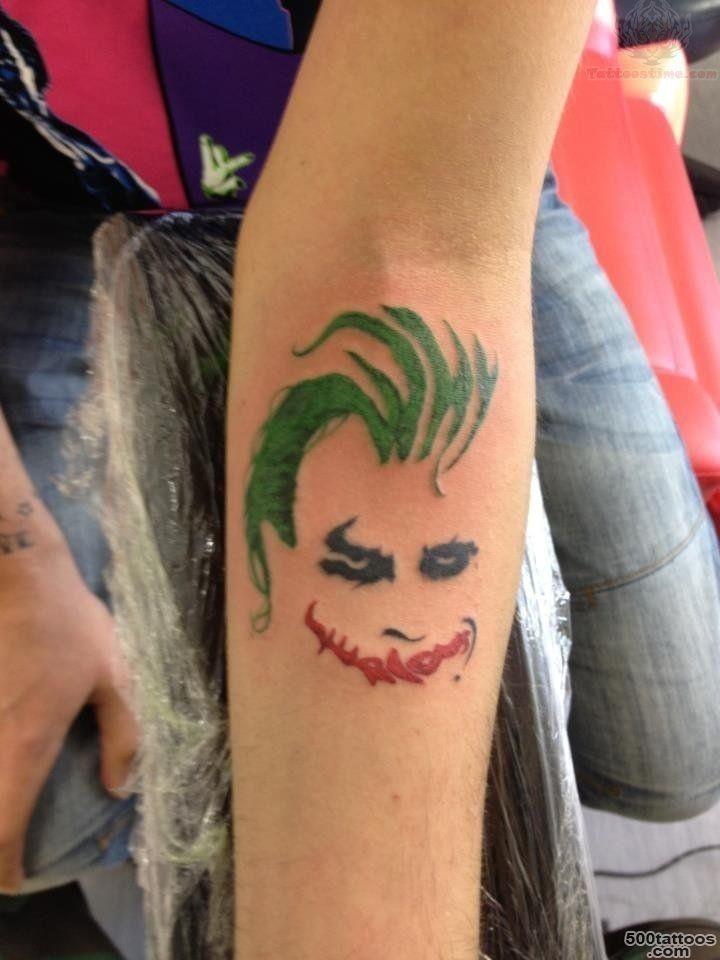 Joker Tattoo Idea