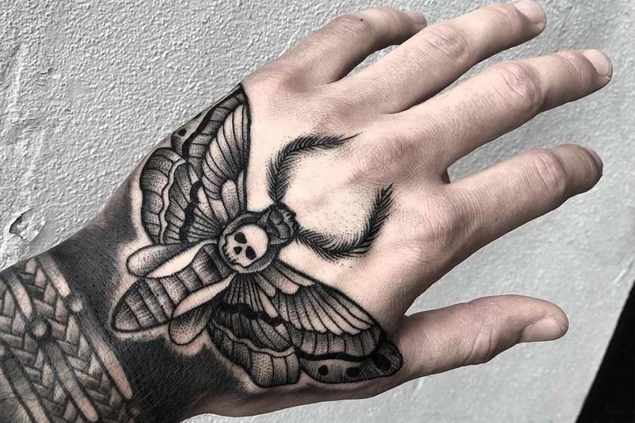 Hawk Moth Tattoo Idea