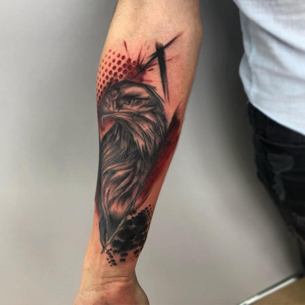 Egle Trash Polka Tattoo Idea