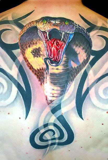 Cobra Tribal Tattoo Idea